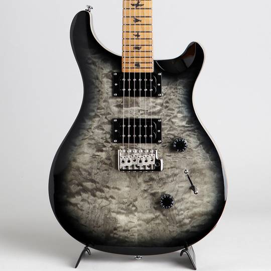 SE Custom 24 Roasted Maple Charcoal Burst