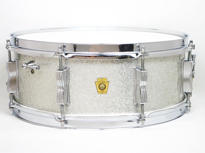 "1965' Jazz Festival Sparkling Silver Pearl 14""×5.5"""