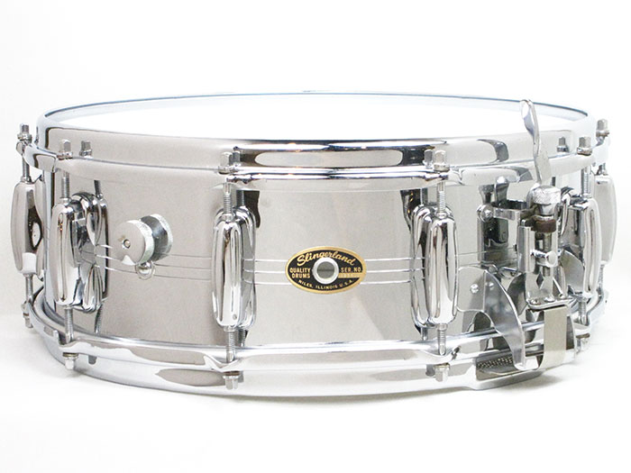 "1963-67' Radio King Chrome Shell Snare Drum 14""×5"""