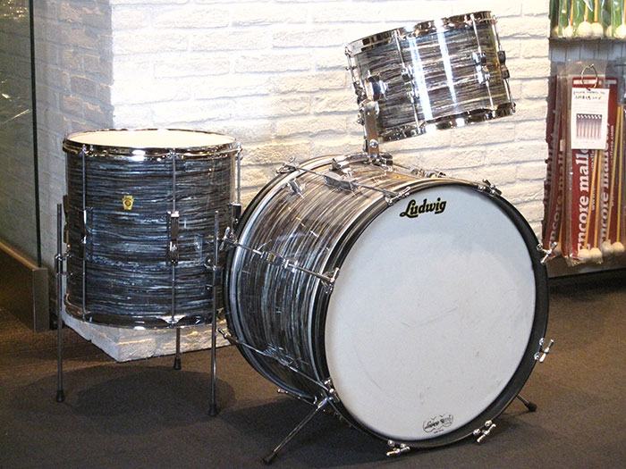 "1965-67' Club Date 20"" 12"" 14"" Oyster Blue Pearl"