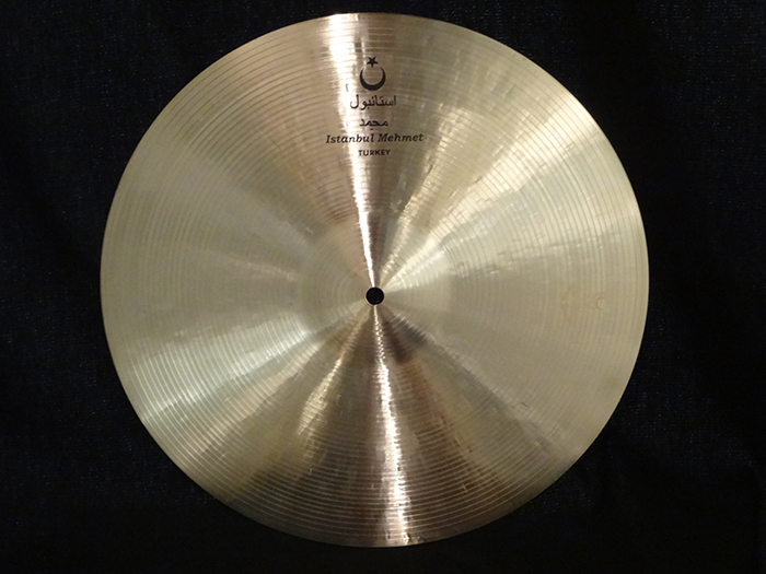 "【選定シンバル・新品30%OFF!!】Mehmet 16"" Nostalgia Crash 987g"