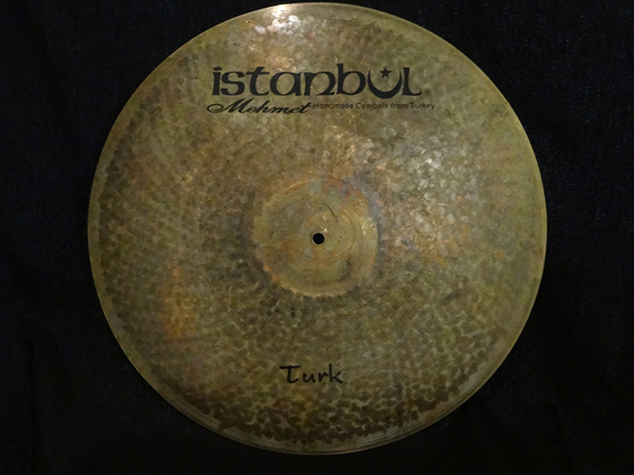 "【選定シンバル】Turk Series 20"" JAZZ RIDE 1772g"