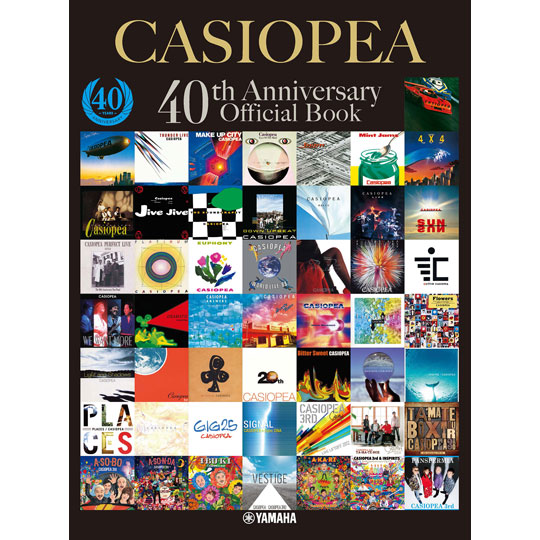 CASIOPEA 40th Anniversary Official Book 【YAMAHA MUSIC MEDIA】