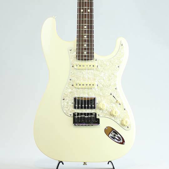 Made in Japan Modern Stratocaster HSS/Olympic Pearl/R【S/N:JD19009405】
