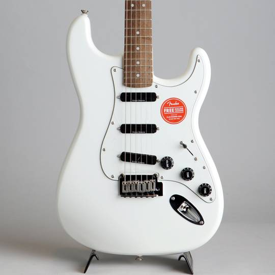 Deluxe Hot Rails Strat Olympic White
