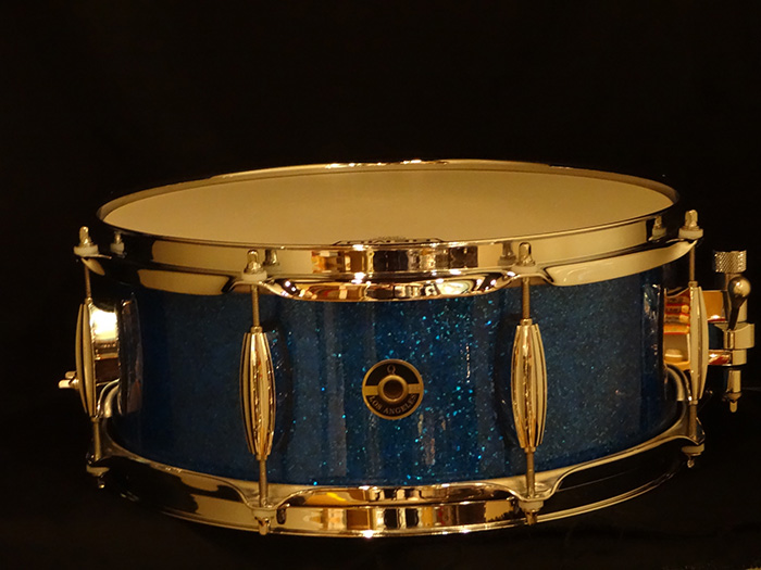 "【中古品】Maple 10ply 13""x5.5"" Blue Sparkle M10-1355 BS"