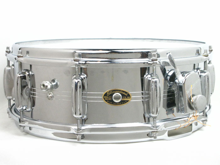 "60's Gene Krupa Sound King Brass 14""×5"""