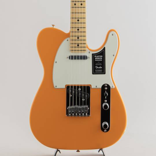 Player Telecaster/Capri Orange/M【S/N:MX19025729】