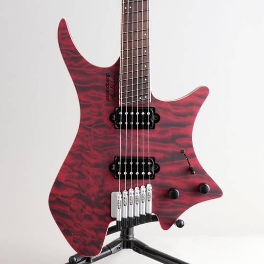 Boden J6 Custom 6A Quilted Maple Red Tiger/NMF