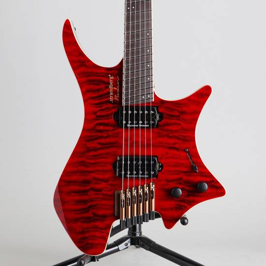 Boden J6 Standard 5A Quilted Maple Red Tiger