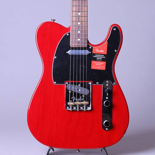 American Professional Telecaster Crimson Red Transparent/R【S/N:US19019628】