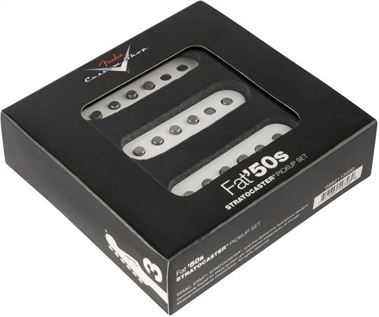 Custom Shop Fat '50s Stratocaster Pickups