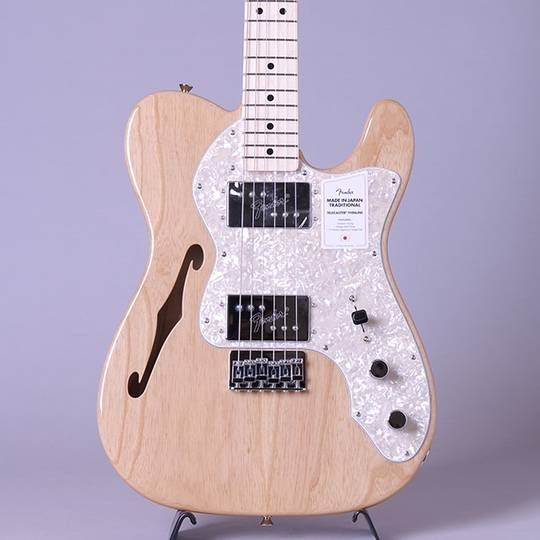 Made in Japan Traditional 70s Telecaster Thinline/Natural/M