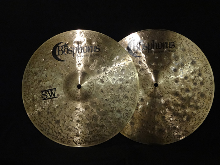 "【トルコ選定買付シンバル】Syncopation series SW 14"" Hi hats 994g、1205g"