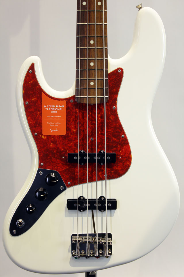 色焼けにつき特価にて!!Traditional '60s Jazz Bass LH (AWH)