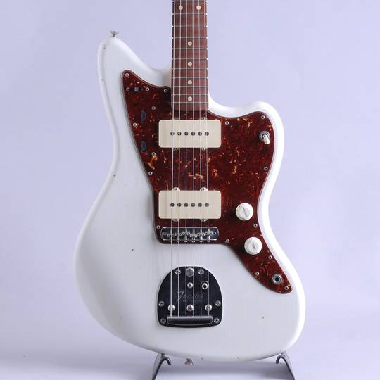 62 Jazzmaster Journeyman Relic/Olympic White Matching Head【S/N:R91987】