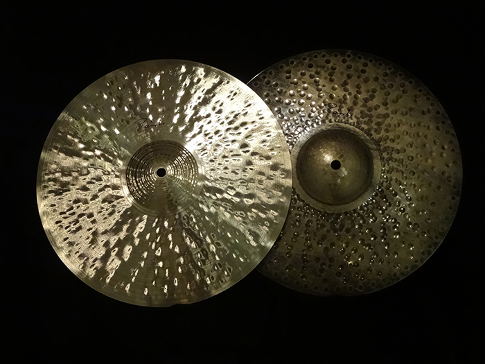 "TRADITIONAL 14""  Light HiHats 941g&1260g"