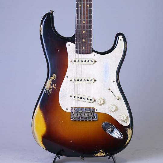 2017 Limited Edition Heavy Relic '59 Roasted Stratocaster/Faded 3-Color Sunburst