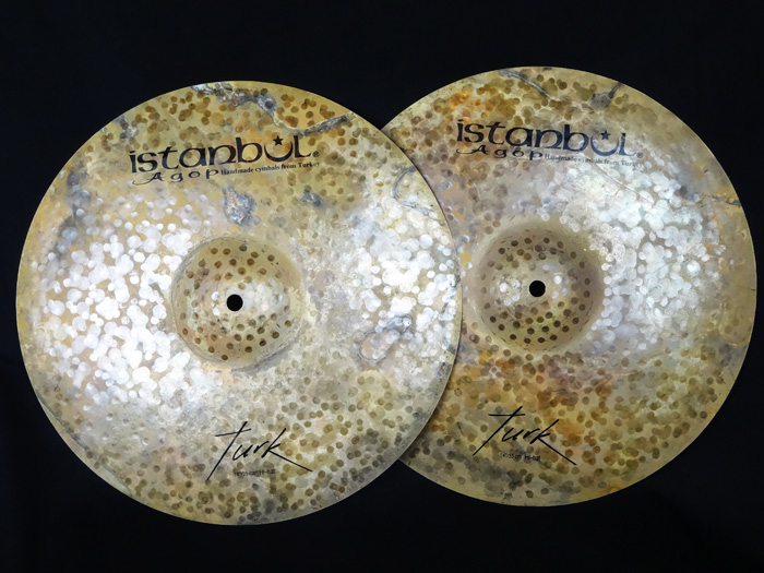 "Turk Series 14"" Hi-hats 1079g、1202g"