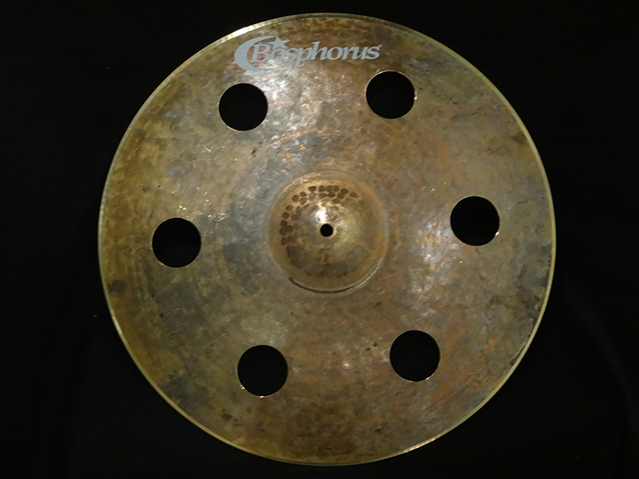 "【新品特価30%OFF!】Turk Series 18"" 穴あきCrash 6holes 1190g"