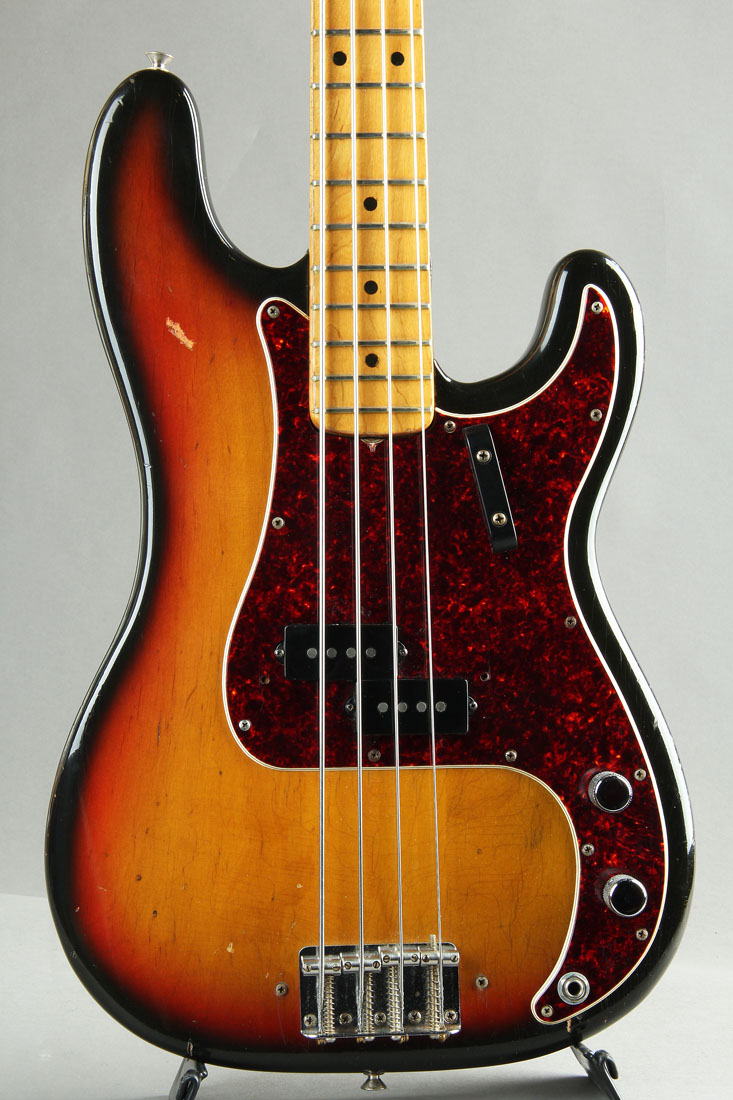1972 Precision Bass Sunburst/Maple