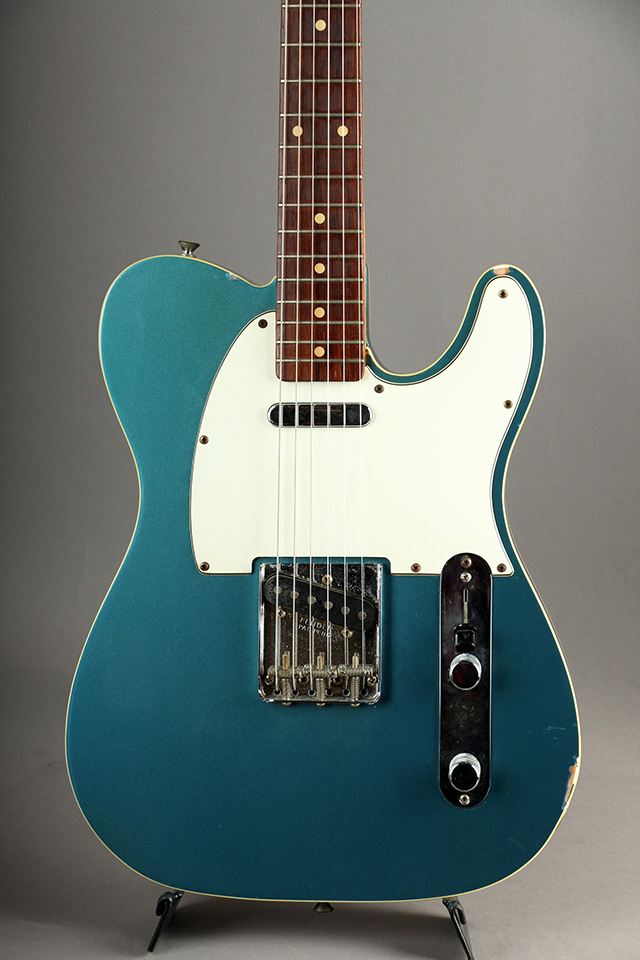 Masterbuilt 1962 Custom Telecaster N.O.S Flame Neck/Lake Placid Blue by Fred Stuart