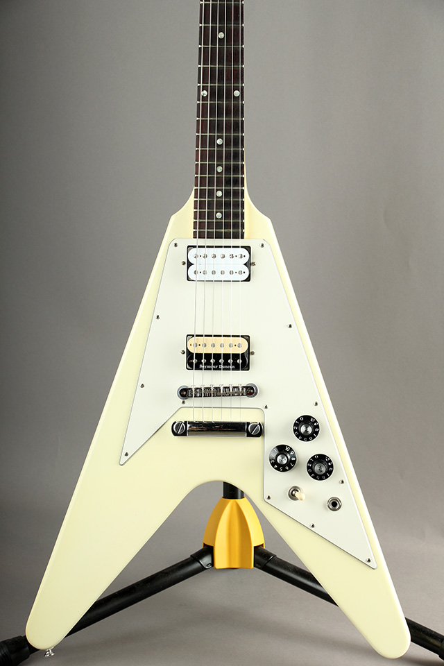 70's Flying V Dot Inlay VOS / Classic White 2012