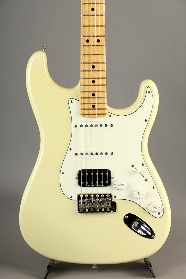 Team Built 1969 Stratocaster SSH Aged Olympic White 2010