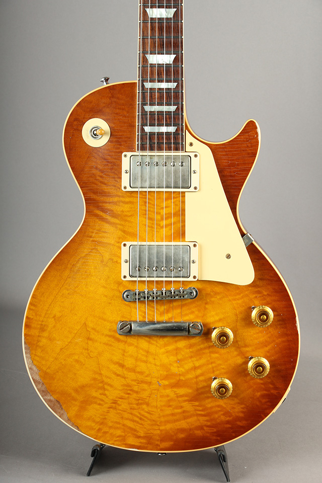 Historic Collection 1959 Les Paul Hand Select HRM Top Ultra Aged Bella Donna Burst