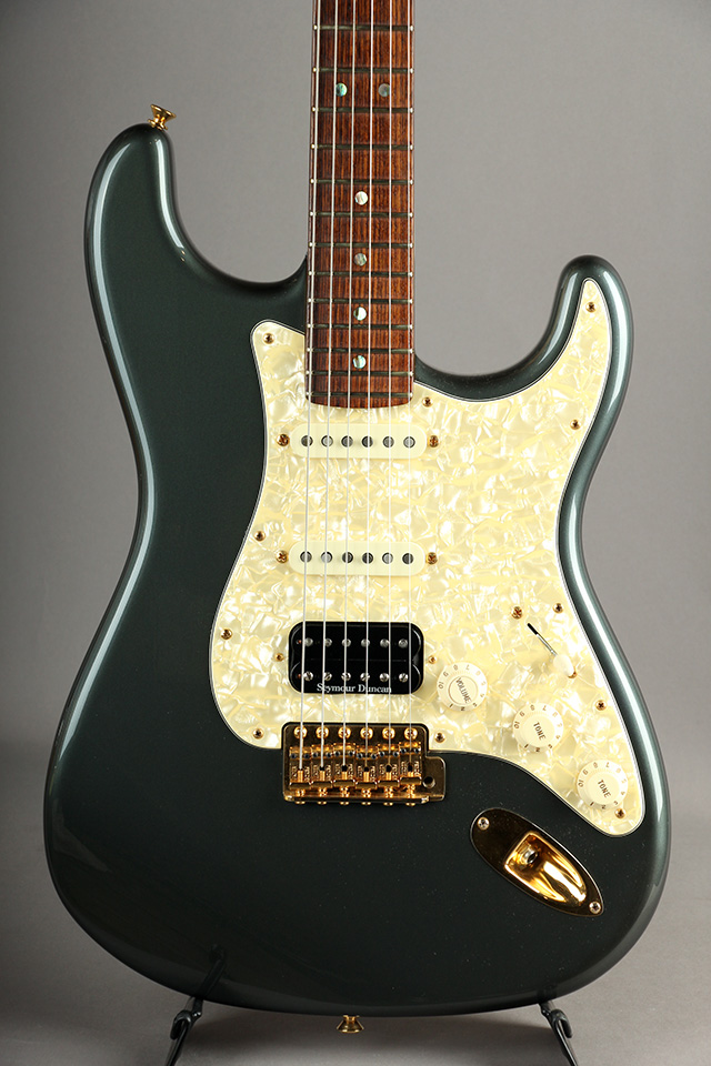 Master Built Custom Stratocaster NOS Charcoal Frost Metallic by John Cruz