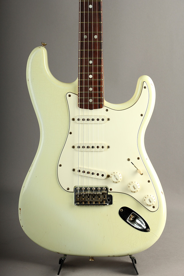 Time Machine Series 1965 Stratocaster Relic Olympic White