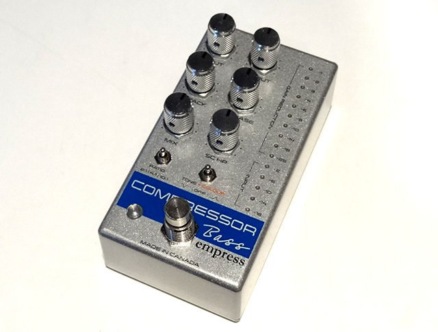 Bass Compressor Silver Sparkle