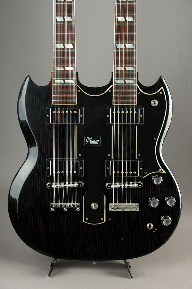 Slash 1966 EDS-1275 Double Neck Signed / Aged Ebony 【S/N:#48】