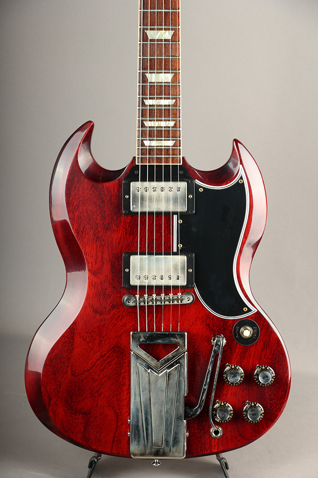 60th Anniversary 1961 Les Paul SG Standard w/ Sideways Vibrola Cherry Red VOS #101781