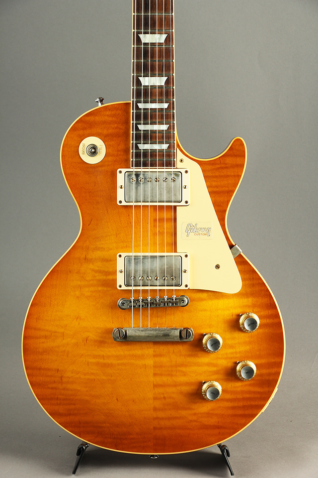 Historic Collection 1960 Les Paul Standard Hard Rock Maple Corduroy Burst VOS