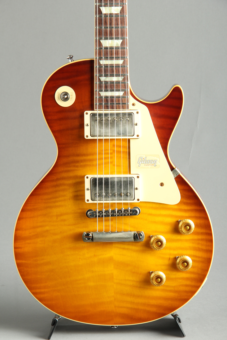 Historic Collection 60th Anniversary 1959 Les Paul Standard VOS Slow Ice Tea Fade