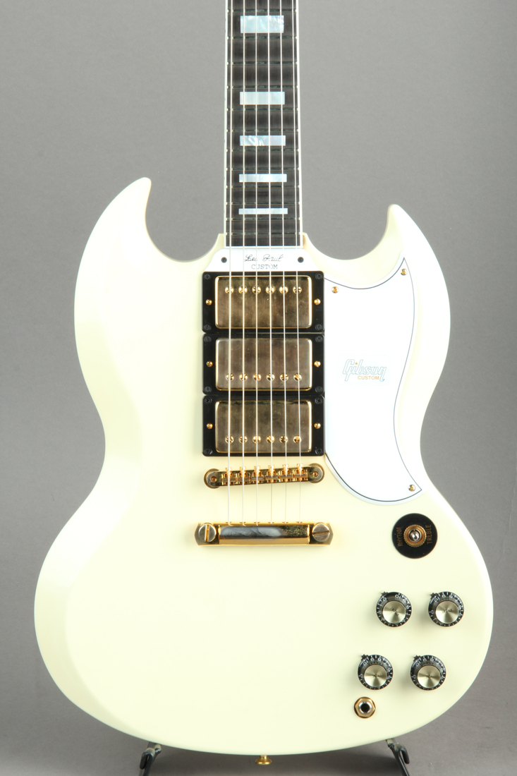 SG Custom Reissue VOS Alpine White