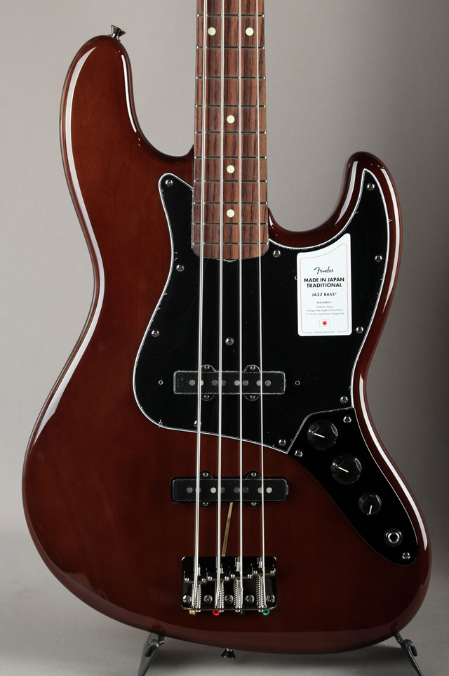 Made In Japan Traditional 60s Jazz Bass Walnut