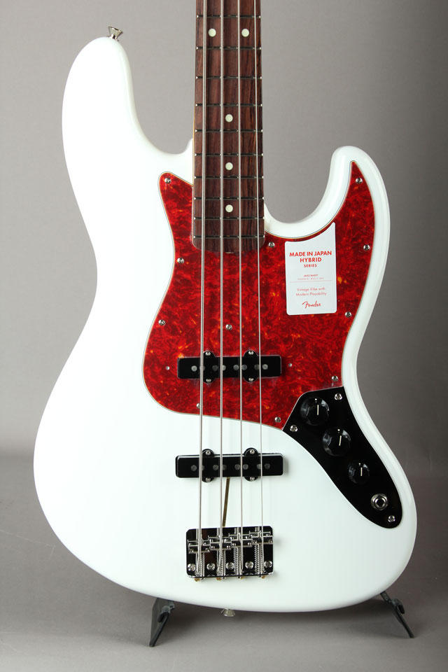Made in Japan Hybrid 60s Jazz Bass Arctic White