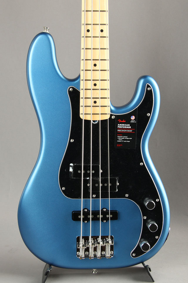 American Performer Precision Bass Satin Lake Placid Blue