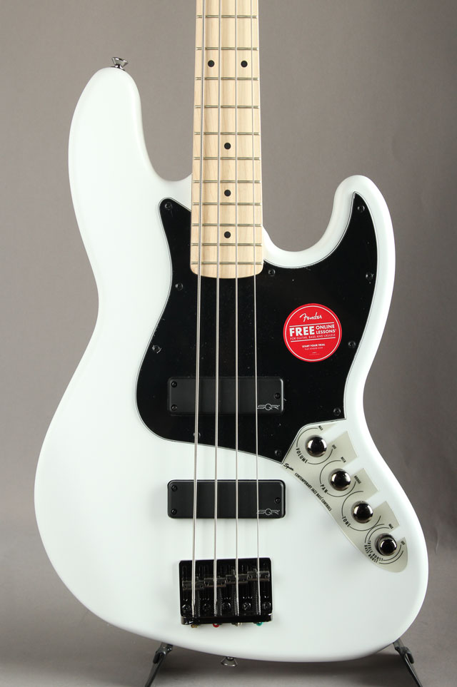 Contemporary Active Jazz Bass HH Flat White