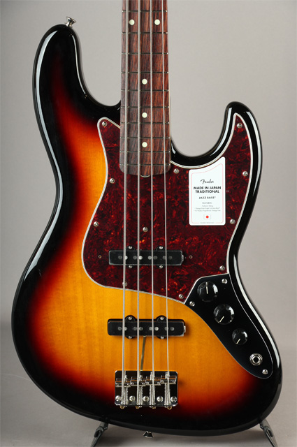 FENDER Made In Japan Traditional 60s Jazz Bass 3CS フェンダー