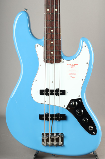 Made In Japan Hybrid 60s Jazz Bass California Blue