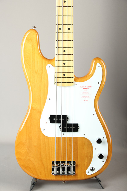 Made in Japan Hybrid 50s Precision Bass Vintage Natural