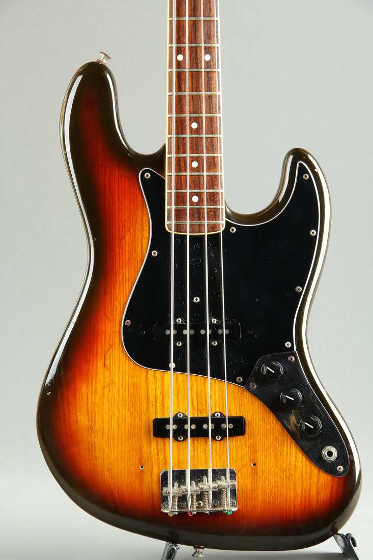 "1982 Jazzbass ""S8"" serial / Dots & Binding rosewood Fingerboard neck"
