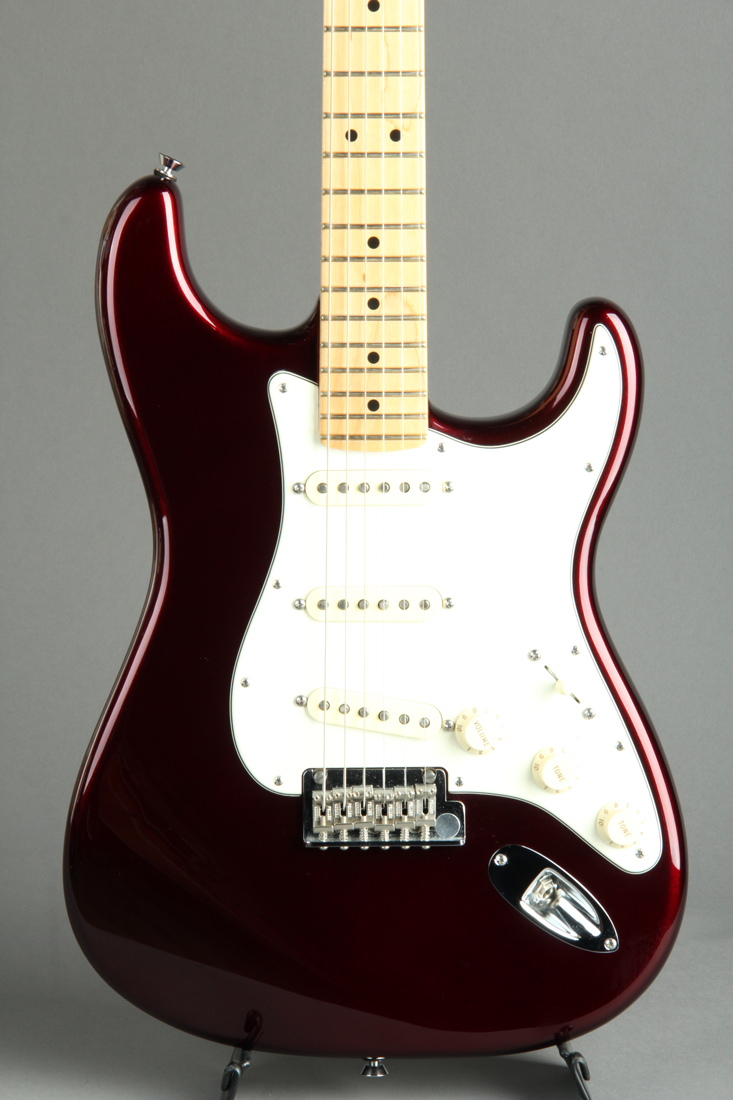 American Standard Stratocaster Candy Apple Red