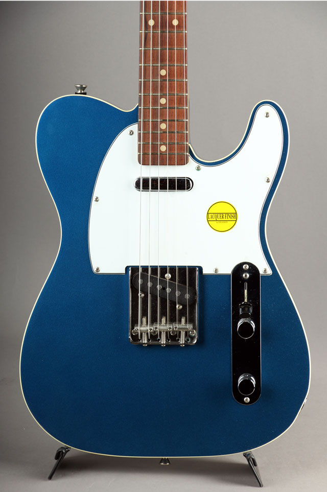 Telecaster Type Lake Placid Blue Metallic