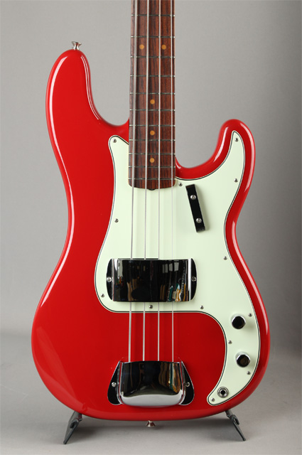 New American Vintage 63 Precision Bass Seminole Red