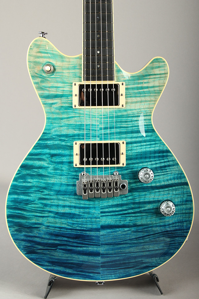 T's Guitars Arc-STD 5A-Flame Blue Fade Matching Head