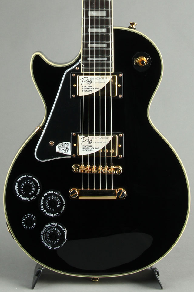 Les Paul Custom Pro Left Hand Ebony